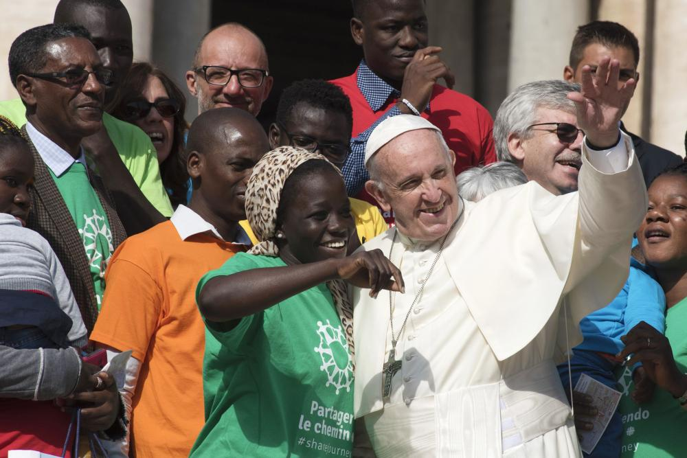 Pope Francis launches 'Share the Journey' campaign