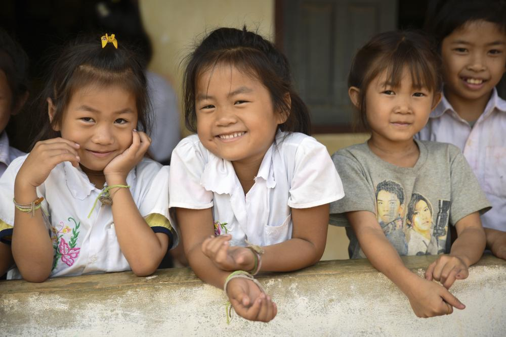 food for education in Laos