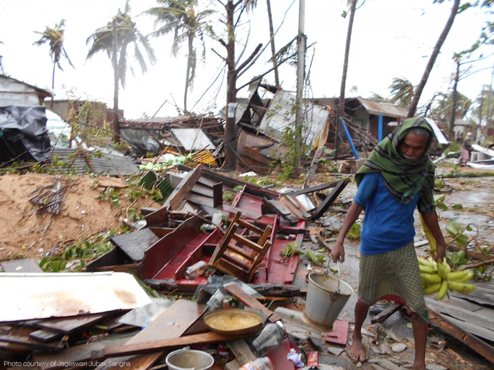 Donate to families affected by Cyclone Fani in India and Bangladesh