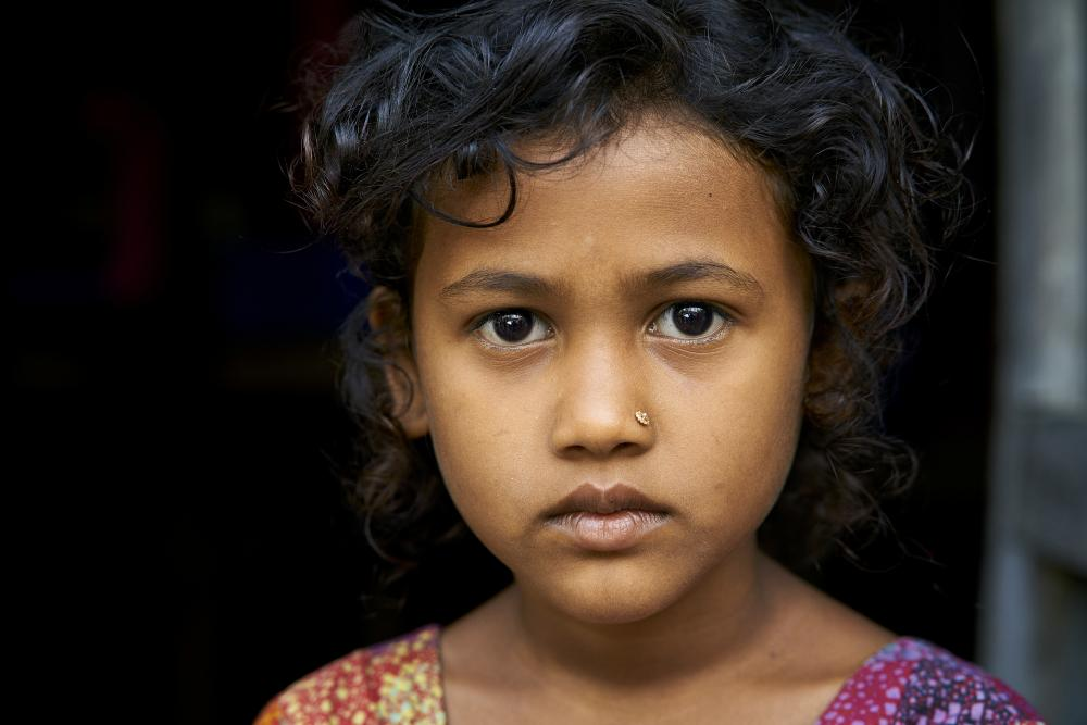 Little girl from Bangladesh